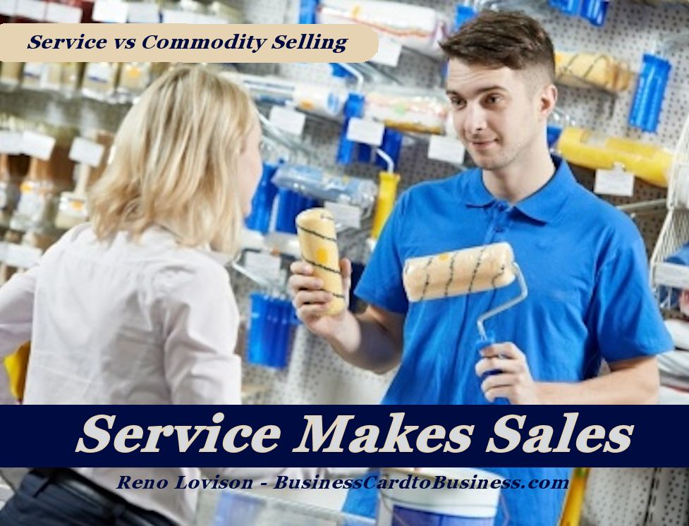 Retail Marketing – Service vs Commodity Selling – Podcast