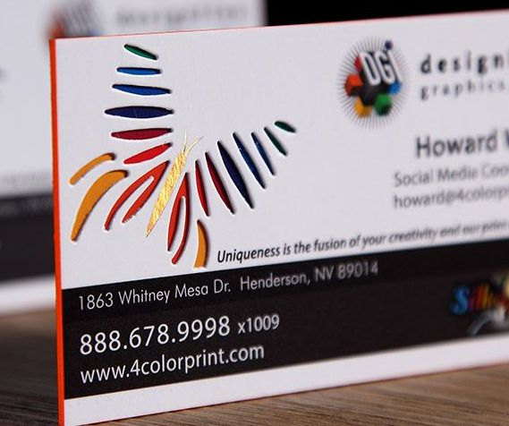 Quality Business Cards Express Value