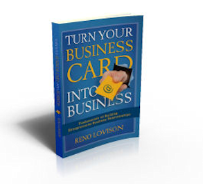 Turn Your Business card Into Business book cover