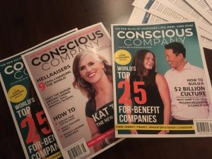 array of conscious company magazines