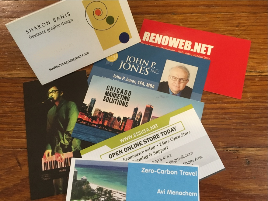 Chicago Business Networking End of Summer Meeting – Business Card to ...